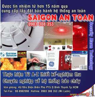 Saigon Antoan  Security Alarm Technology